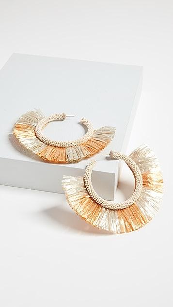 Deepa Gurnani Deepa by Deepa Gurnani Petaloop Earrings