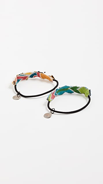 Deepa Gurnani Deepa by Deepa Gurnani Abreeset Ponytail Holder Set