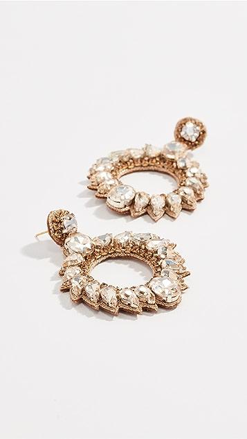 Deepa Gurnani Deepa by Deepa Gurnani Sanahx Earrings - Gold