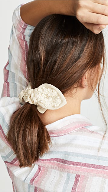 Blaire Bow Scrunchie by Deepa Gurnani