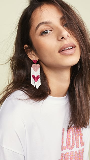 Deepa Gurnani Amaryllis Earrings
