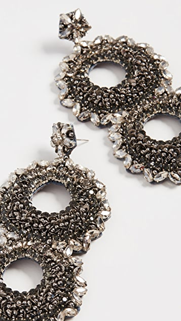 Deepa Gurnani Deepa By Deepa Gurnani Caterx Earrings