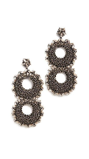 Deepa Gurnani Deepa By Deepa Gurnani Caterx Earrings