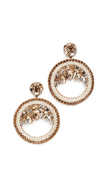 Deepa Gurnani Deepa By Deepa Gurnani Bernadette Earrings