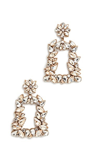 Deepa Gurnani Deepa by Deepa Gurnani Gold Crystal Earrings