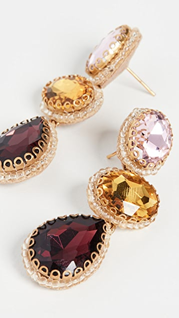 Deepa Gurnani Hadlee Earrings