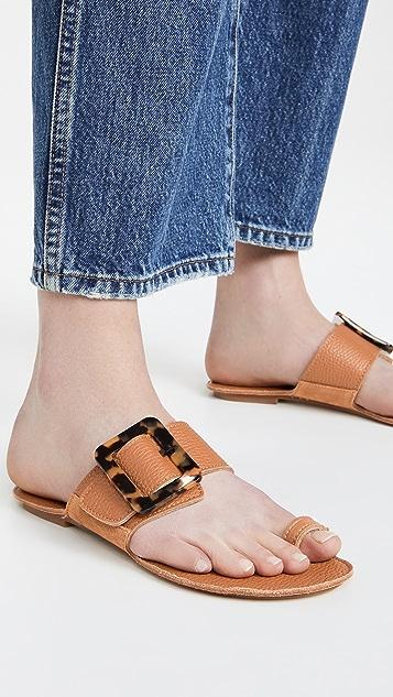 Definery 布环便鞋