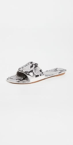 Definery - 布环镂空便鞋