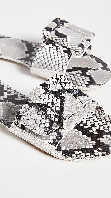 Definery 布环镂空便鞋