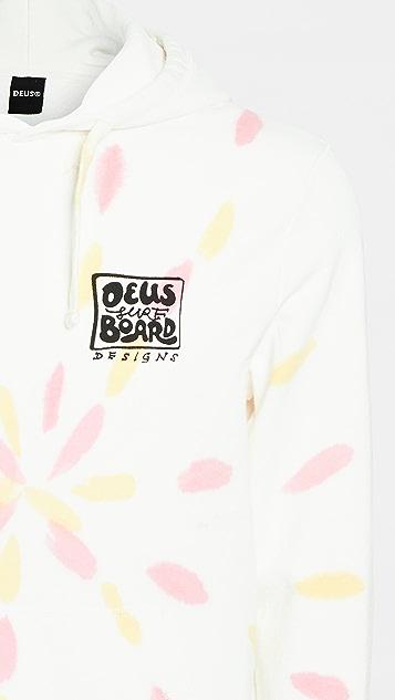 Deus Ex Machina Banzai Tie Dye Pullover Hoodie