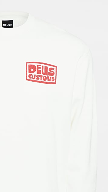 Deus Ex Machina Revlon Surf Crew Neck Sweatshirt