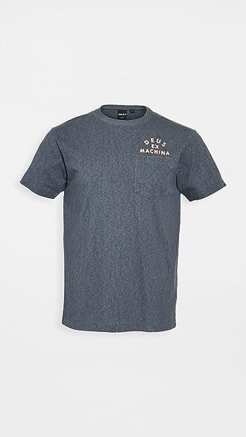 Deus Ex Machina Roller Milan Address Pocket T-Shirt