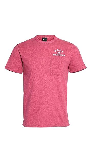 Deus Ex Machina Roller Tokyo Address Pocket T-Shirt