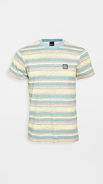 Deus Ex Machina Sunrise Striped T-Shirt