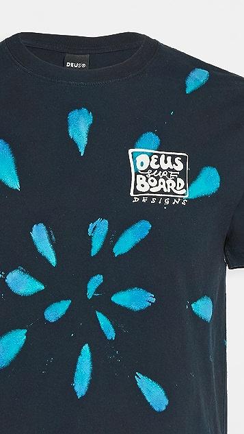 Deus Ex Machina Banzai Tie Dye T-Shirt