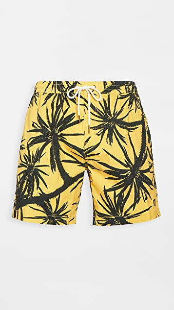 Deus Ex Machina Sandbar Centennial Swim Shorts