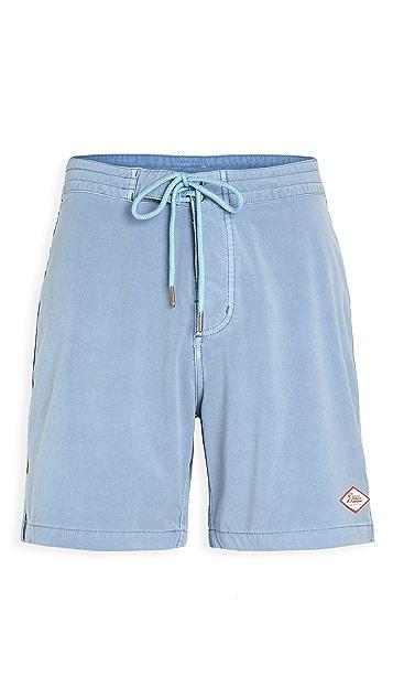 Deus Ex Machina Tugu Garment Dyed Swim Shorts