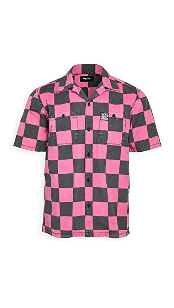Deus Ex Machina Senna Check Short Sleeve Shirt
