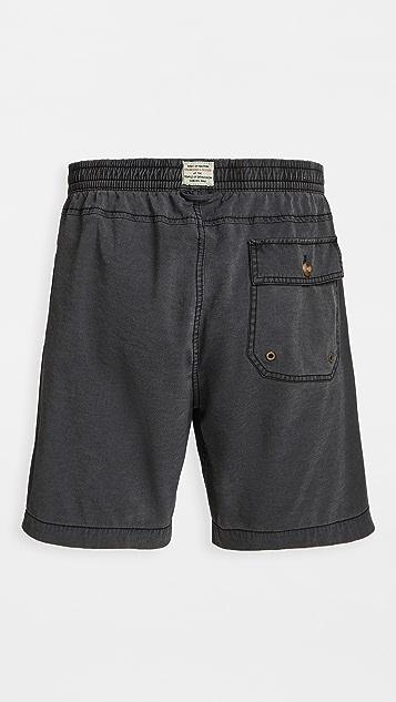 Deus Ex Machina Sandbar Solid Dye Shorts