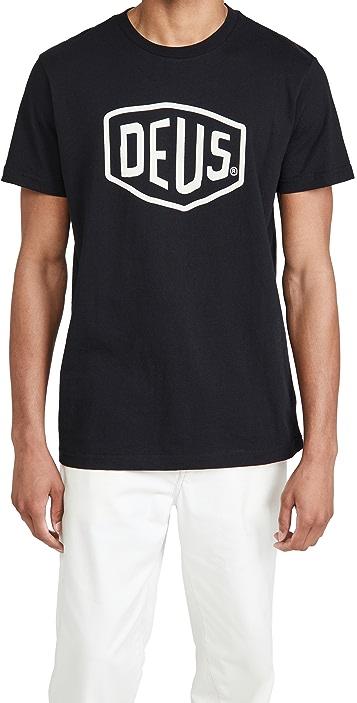 Deus Ex Machina Shield Logo T-Shirt