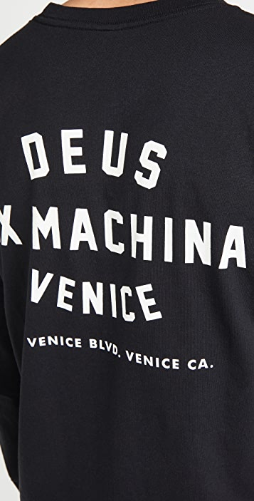 Deus Ex Machina Venice Address Long Sleeve T-Shirt