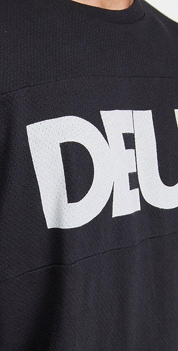 Deus Ex Machina All Caps Moto Jersey Tee