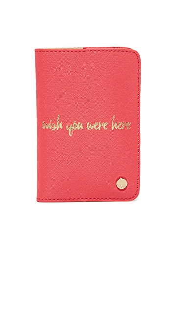 Deux Lux Wish You Were Here Passport Case