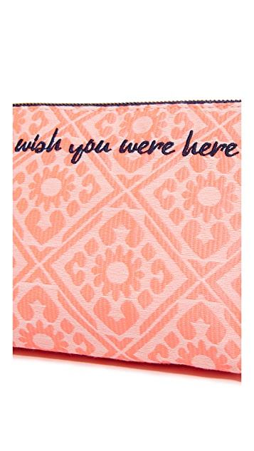 Deux Lux Wish You Were Here Cosmetic Case