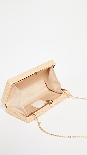 Deux Lux Straw Box Clutch