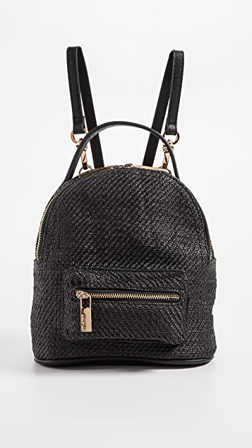 Deux Lux Straw Mini Backpack