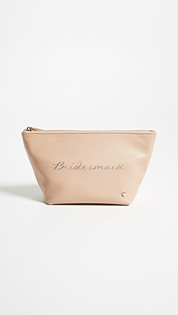 Deux Lux Bridesmaid Cosmetic Pouch