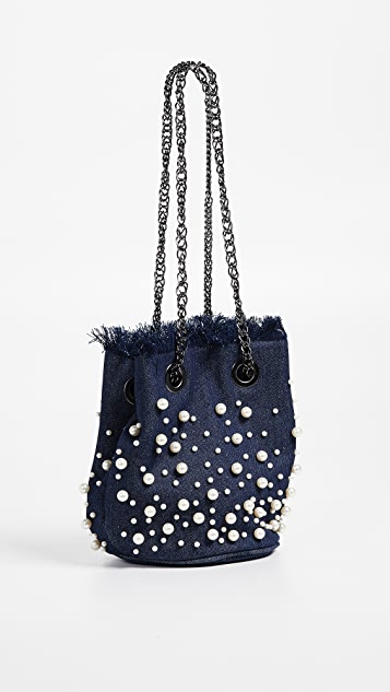 Deux Lux Pearl Bucket Bag