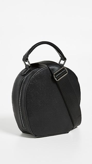 Deux Lux Круглая сумка-портфель Annabelle