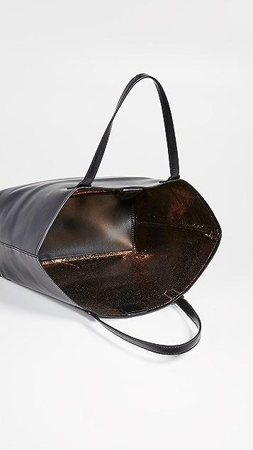 Deux Lux Эксклюзивная объемная сумка с короткими ручками