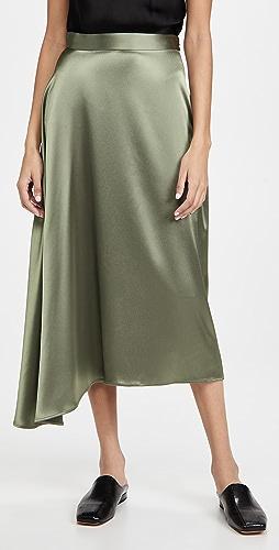 Deveaux - Merel 斜裁衬裙半身裙