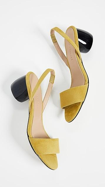 Dear Frances Luna Slingback Sandals