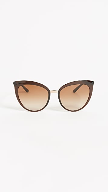Dolce & Gabbana Essential Cat Eye Sunglasses