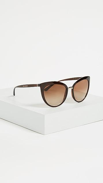 Dolce & Gabbana Essential Cat Eye Sunglasses