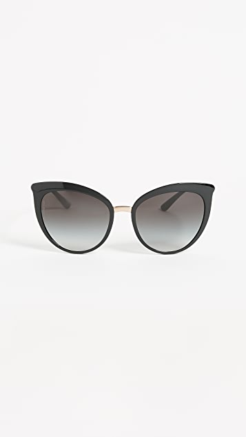 47828434691c Dolce   Gabbana Essential Cat Eye Sunglasses