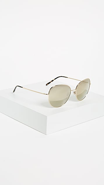 Dolce & Gabbana Wire Wrapped Mirror Sunglasses