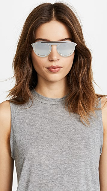 Dolce & Gabbana Flat Top Sunglasses