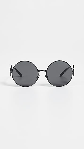 Dolce & Gabbana Sicilian Sweet Round Sunglasses