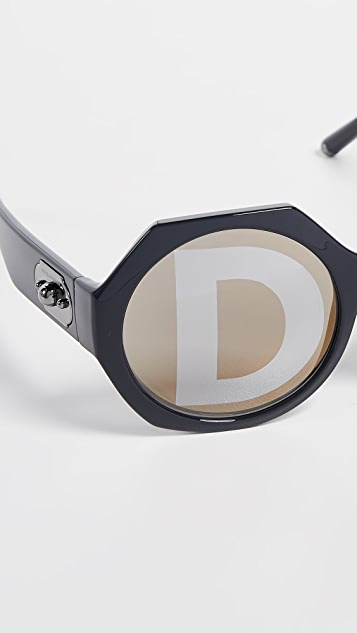 Dolce & Gabbana Welcome Geometric Sunglasses