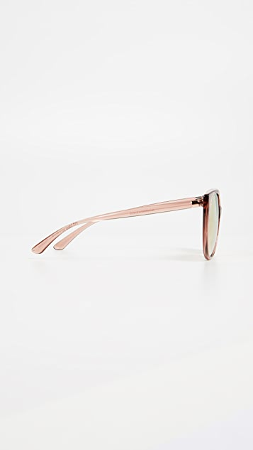 Dolce & Gabbana Line Cat Eye Sunglasses