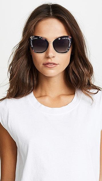 Dolce & Gabbana Bold Cat Eye Sunglasses