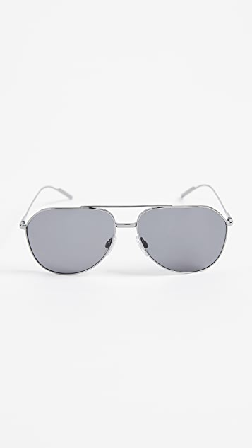 Dolce & Gabbana DG2166 Polarized Sunglasses