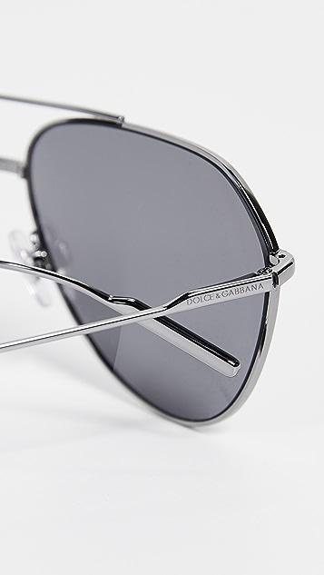 Dolce & Gabbana DG2166 Polarized Sunglasses