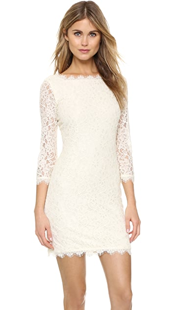 442a4746f5620 Diane von Furstenberg Zarita Lace Dress ...