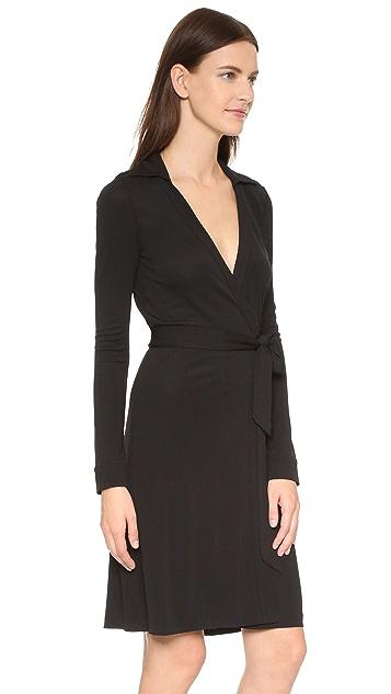 773dac852bc ... Diane von Furstenberg New Jeanne Two Wrap Dress ...