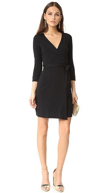 Diane von Furstenberg Julian Mini Wrap Dress